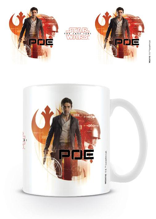Star Wars Episode VIII mug Poe Icons