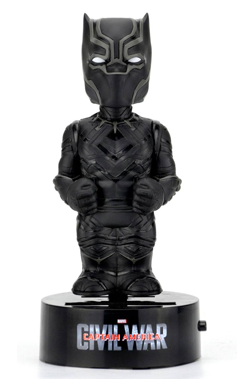 Captain America Civil War Body Knocker Bobble Figure Black Panther 16 cm