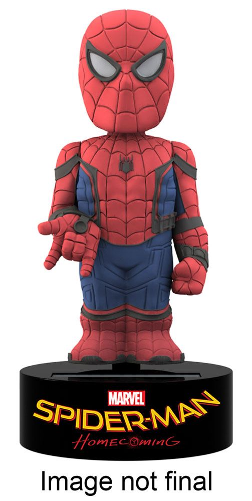 Spider-Man Homecoming Body Knocker Bobble Figure Spider-Man 15 cm