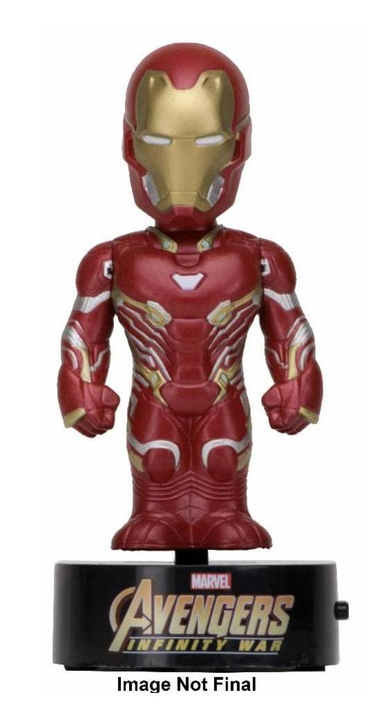 Avengers Infinity War Body Knocker Bobble Figure Iron Man 16 cm