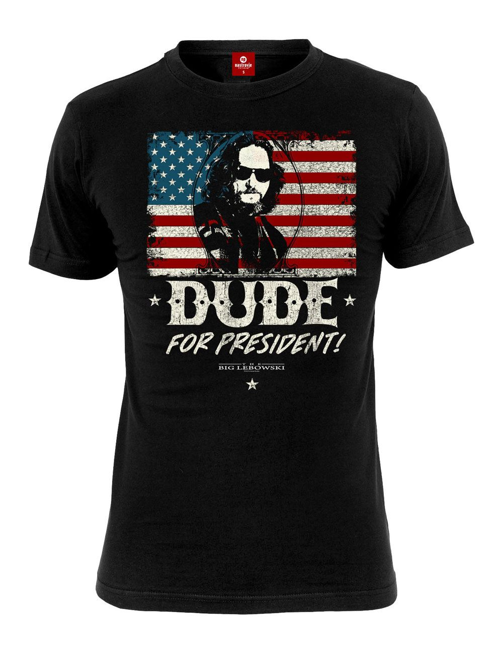 The Big Lebowski T-Shirt Dude for President (XL)