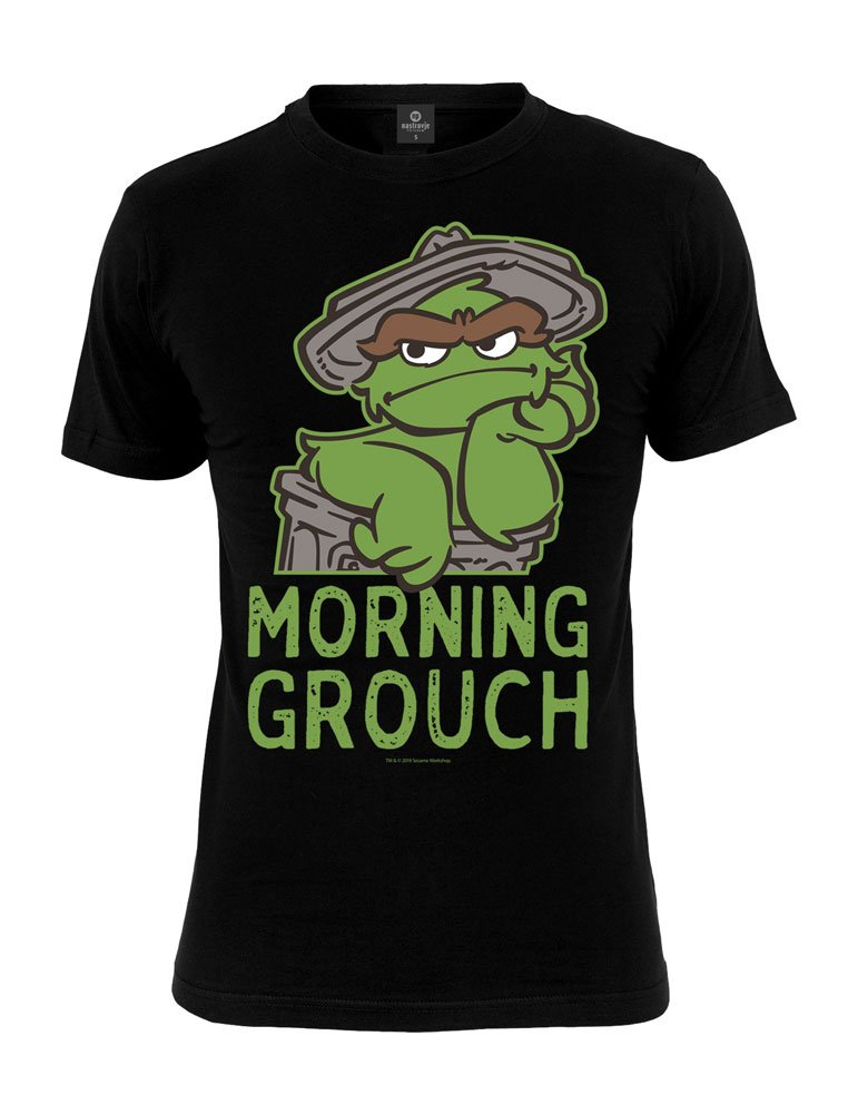 1 rue Sésame T-Shirt Oscar Morning Grouch (M)