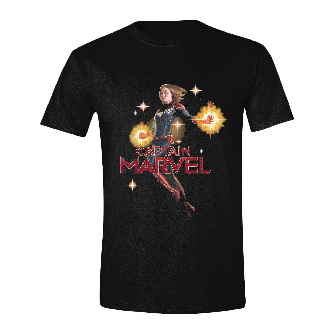 Captain Marvel T-Shirt Carol Danvers (XL)