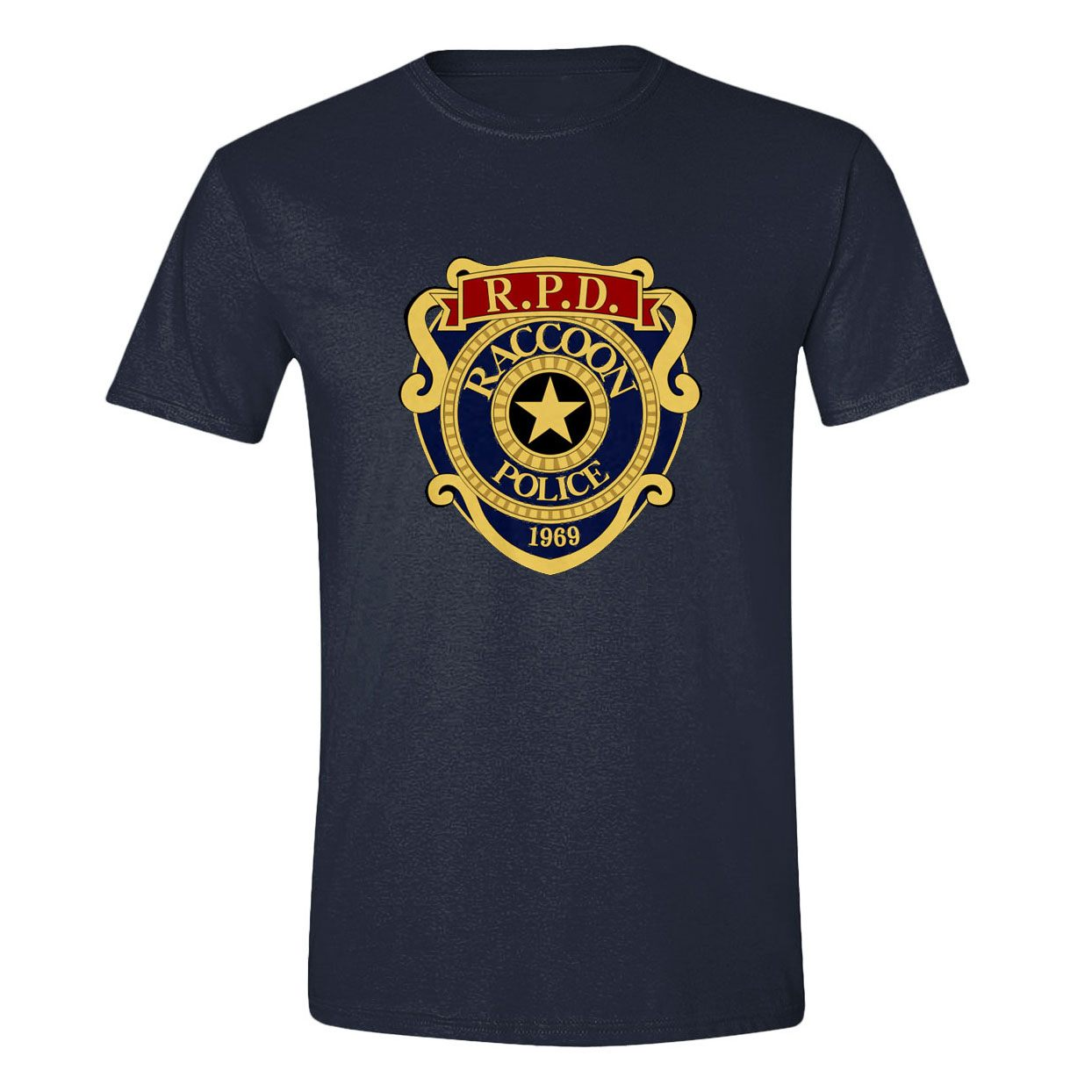 Resident Evil 2 T-Shirt R.P.D. Badge (XL)