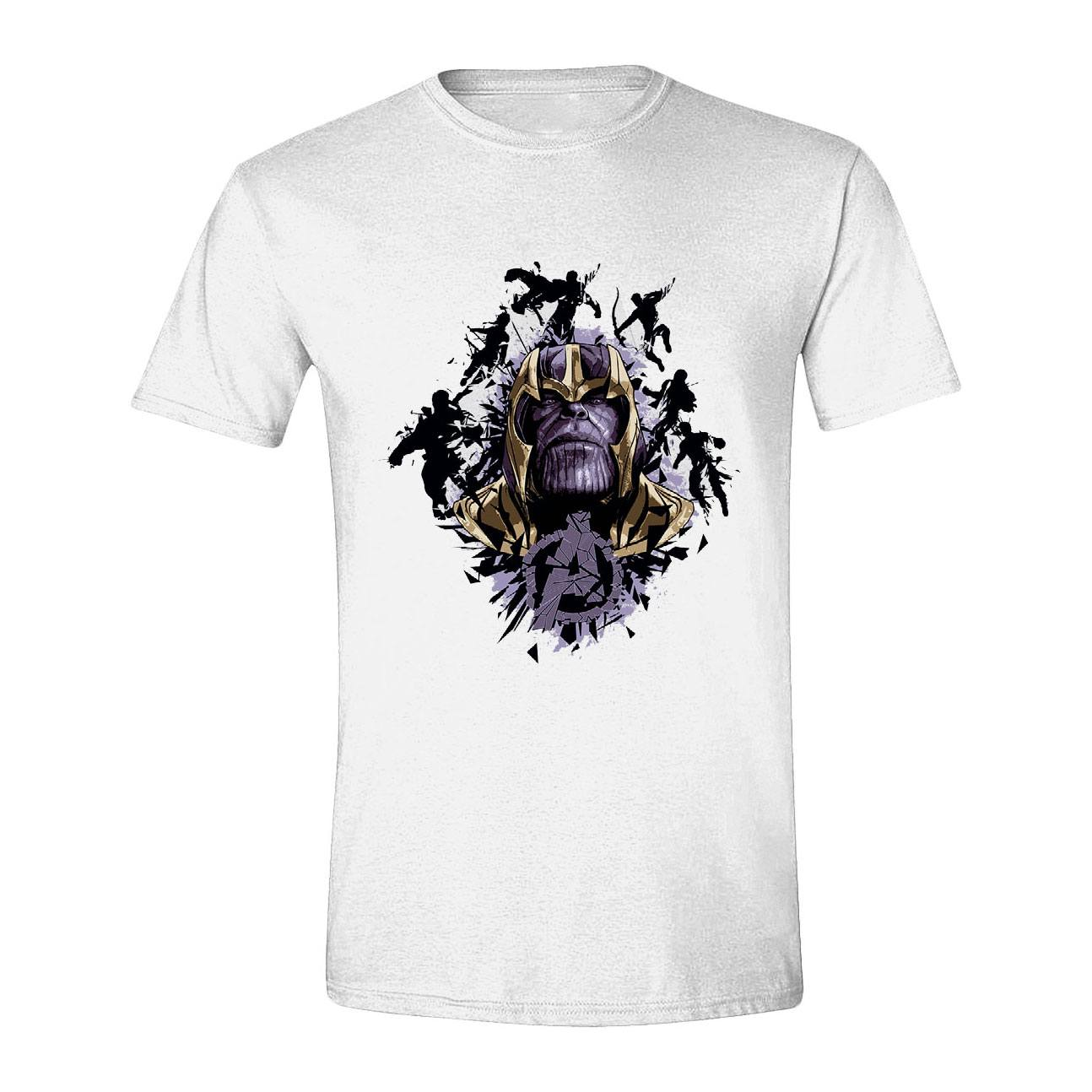 Avengers : Endgame T-Shirt Warlord Thanos (S)