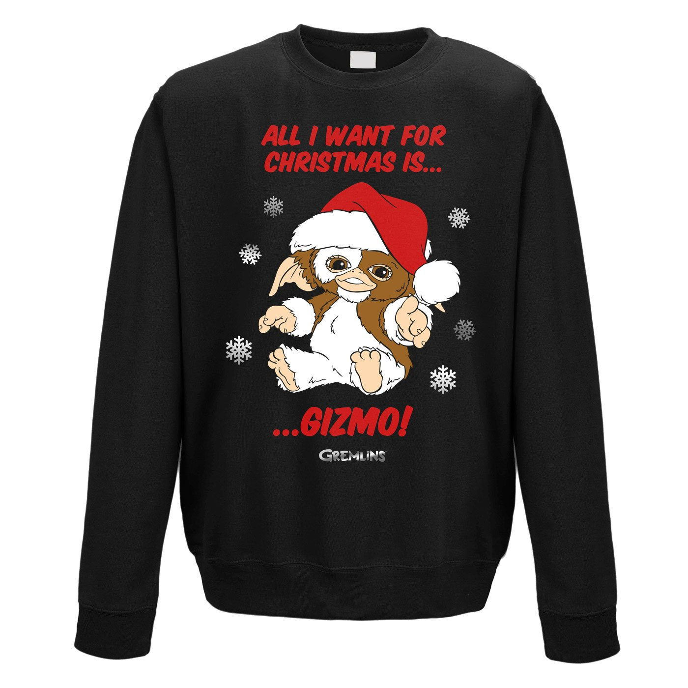 Gremlins Sweater All I Want Is Gizmo (XL)