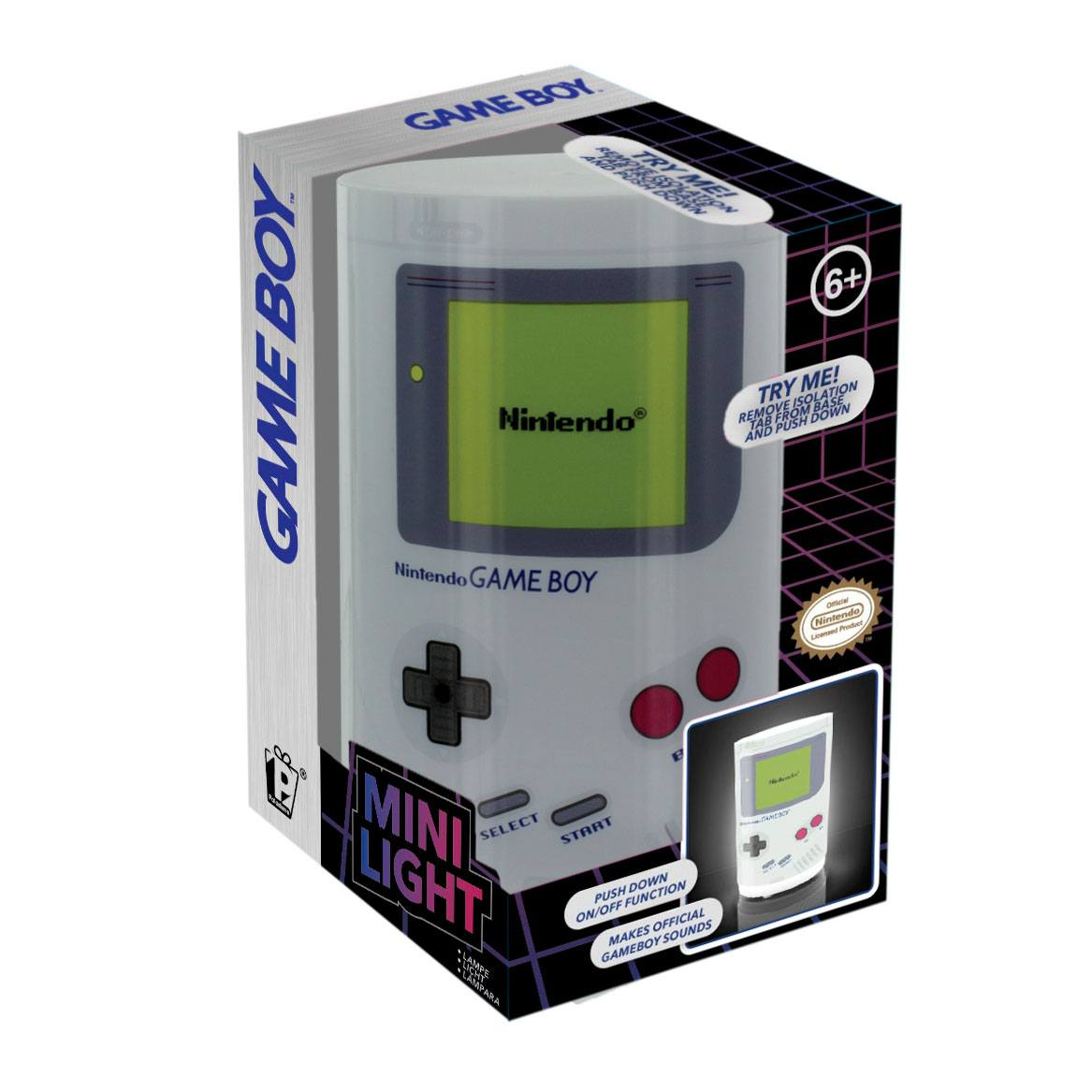 Nintendo Game Boy veilleuse sonore Game Boy 11 cm