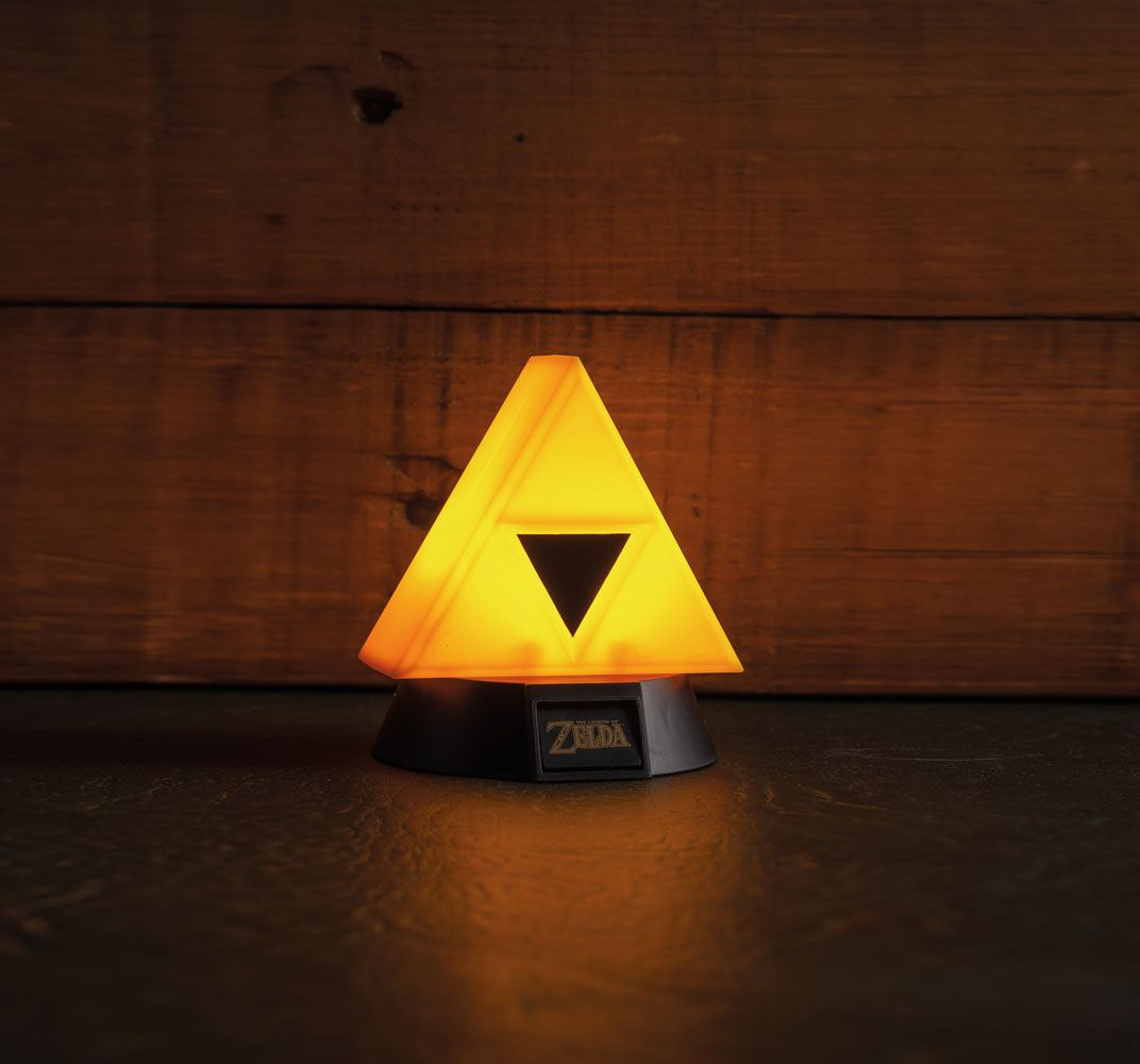 Legend of Zelda veilleuse 3D Triforce 10 cm