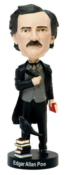 Edgar Allan Poe Bobble Head 20 cm