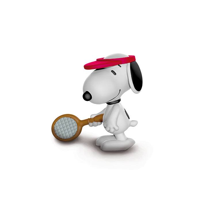 Peanuts figurine Tennis Player Snoopy 5 cm