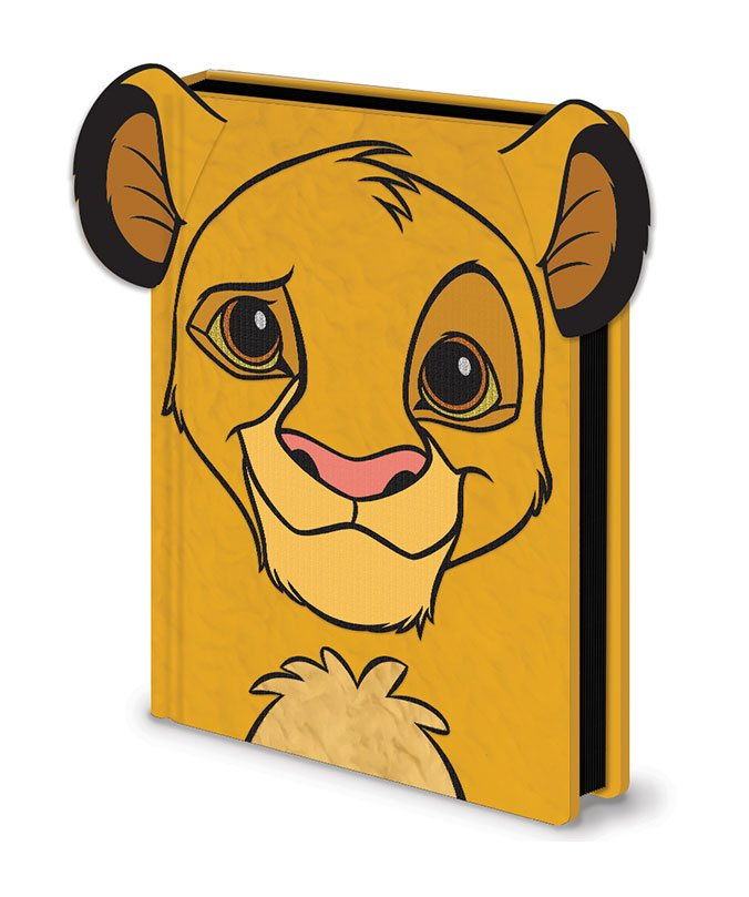 Le Roi Lion carnet de notes Premium A5 Simba Furry