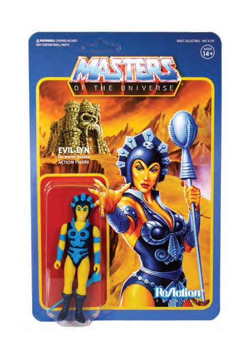 Masters of the Universe Wave 4 figurine ReAction Evil-Lyn 10 cm