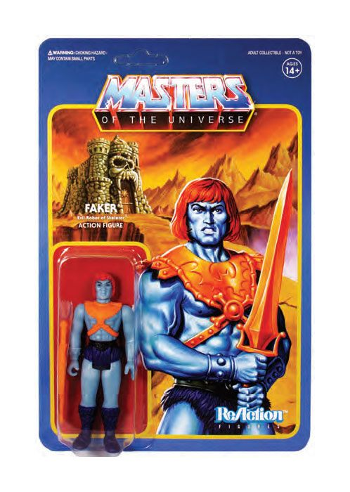 Masters of the Universe Wave 4 figurine ReAction Faker 10 cm