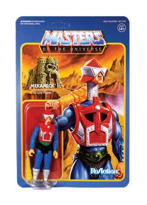 Masters of the Universe Wave 4 figurine ReAction Mekaneck 10 cm