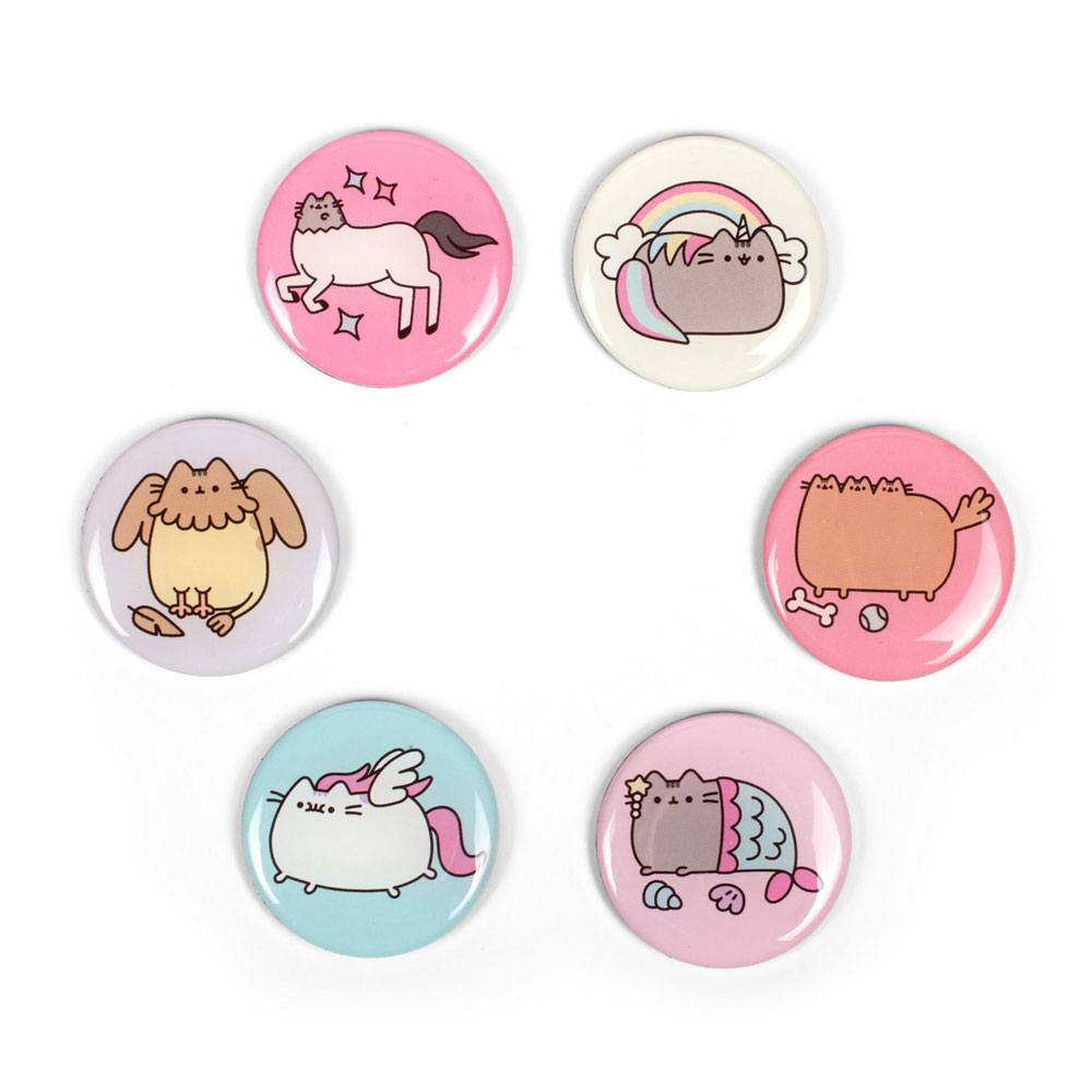 Pusheen pack 6 aimants