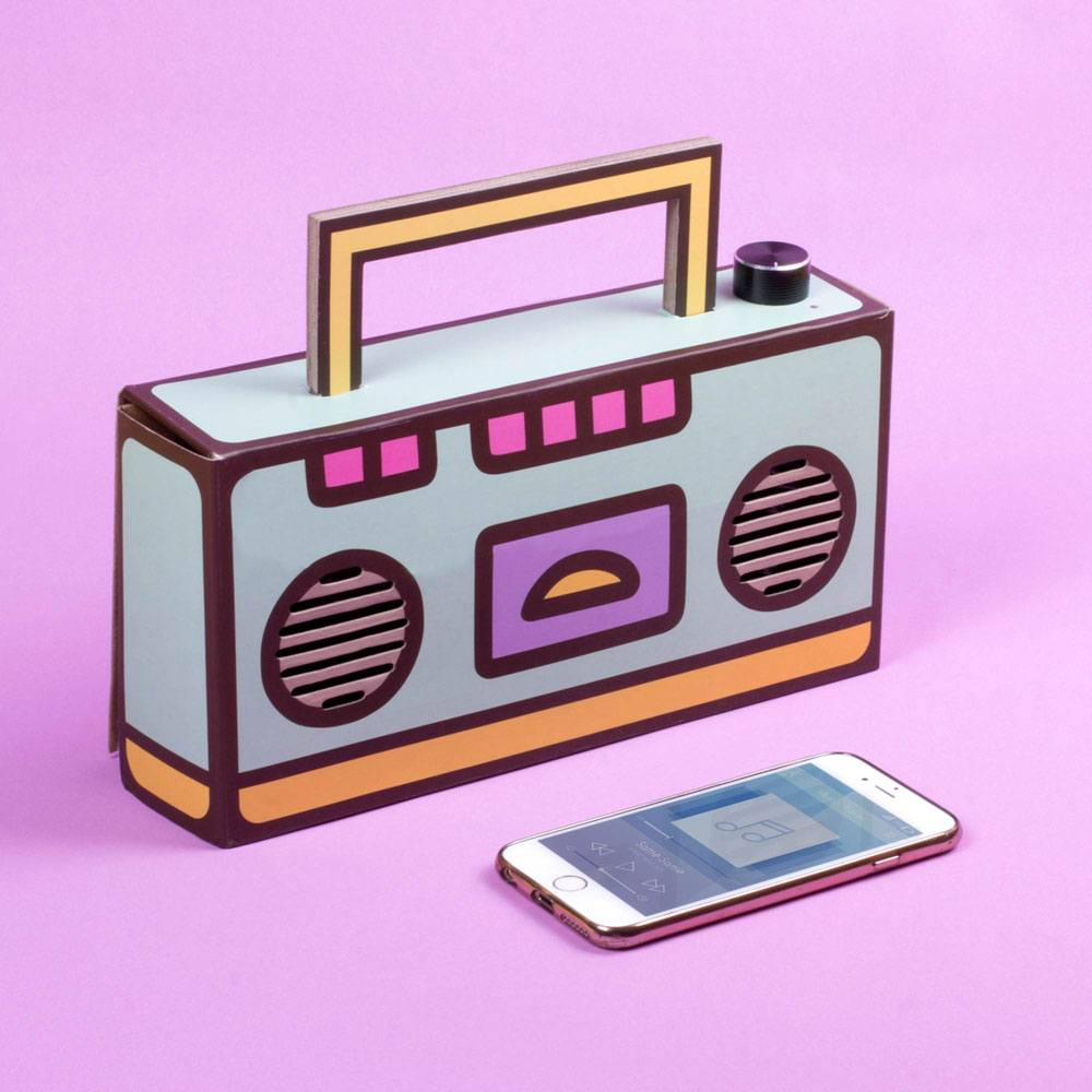 Pusheen haut-parleur Bluetooth DIY Boombox