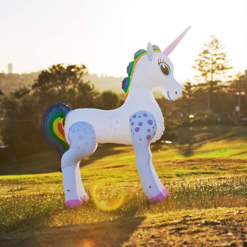 Licorne gonflable Life-Size 198 cm
