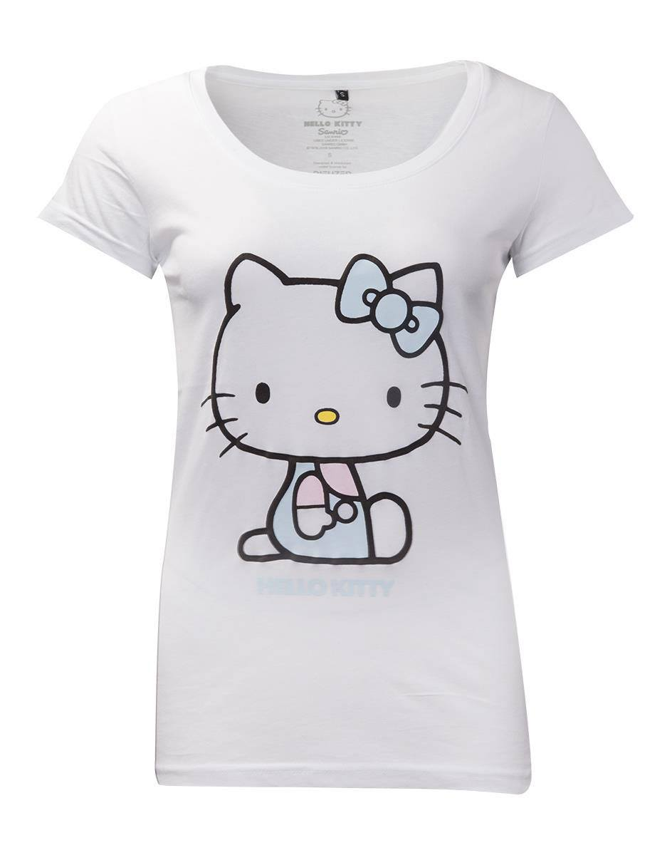 Hello Kitty T-Shirt femme Embroidery Details (XL)