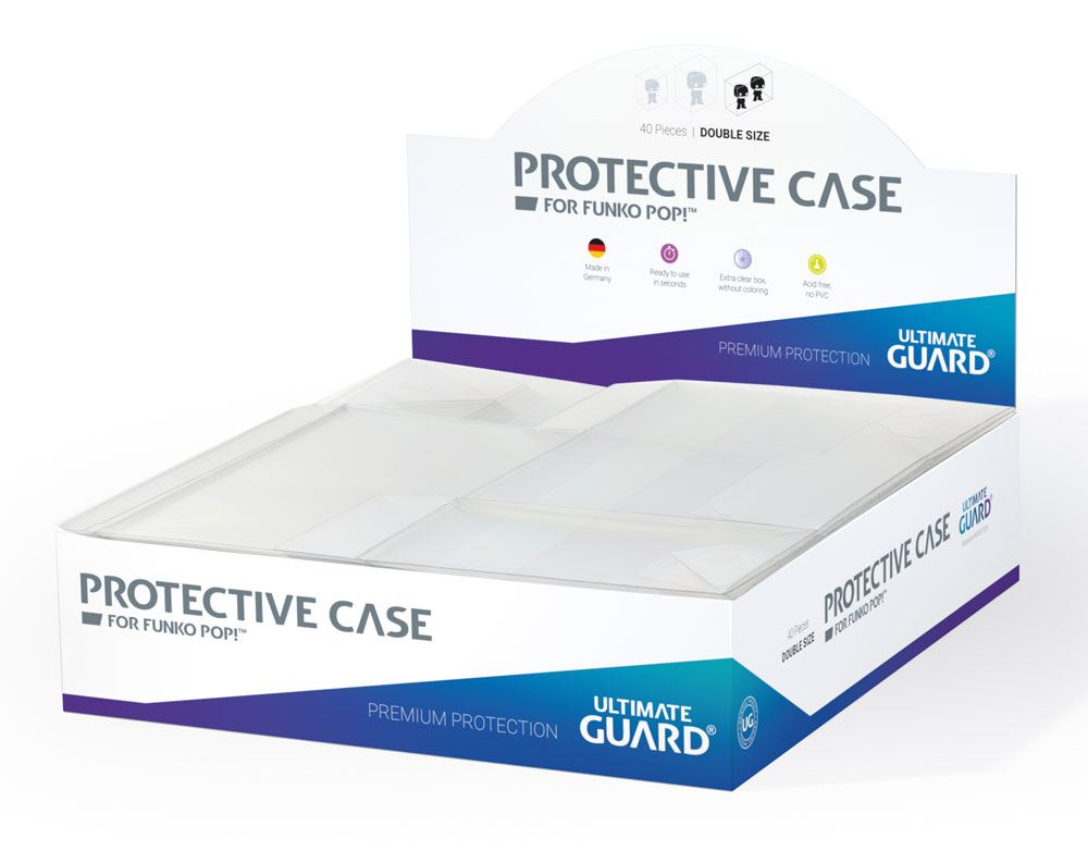 Ultimate Guard Protective Case boîtes de protection pour figurines Funko POP!? Double Size (40)