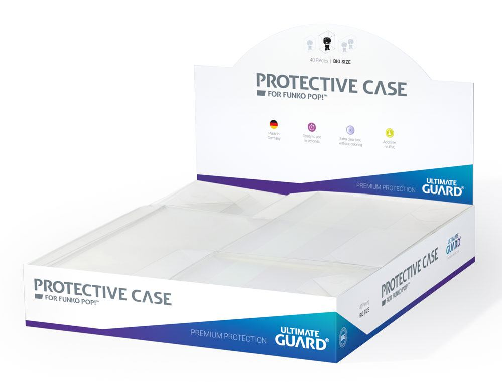 Ultimate Guard Protective Case boîtes de protection pour figurines Funko POP!? Big Size (40)