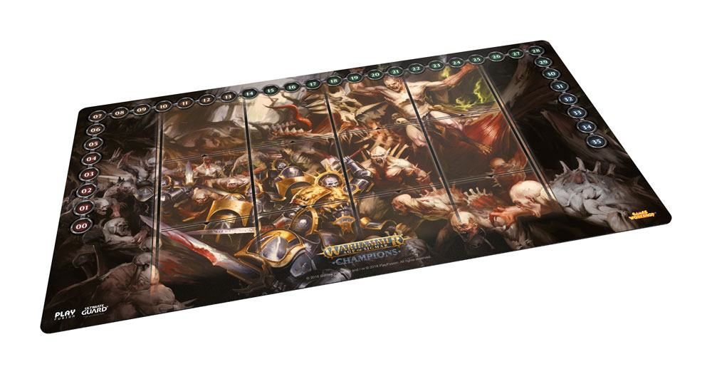 Warhammer Age of Sigmar: Champions Play-Mat Order vs. Death 64 x 35 cm