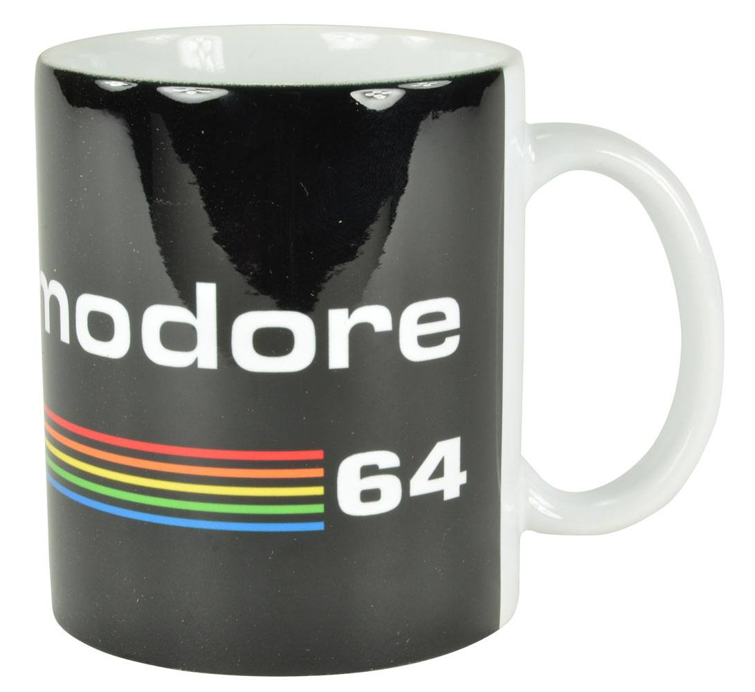 Commodore 64 mug Black Logo