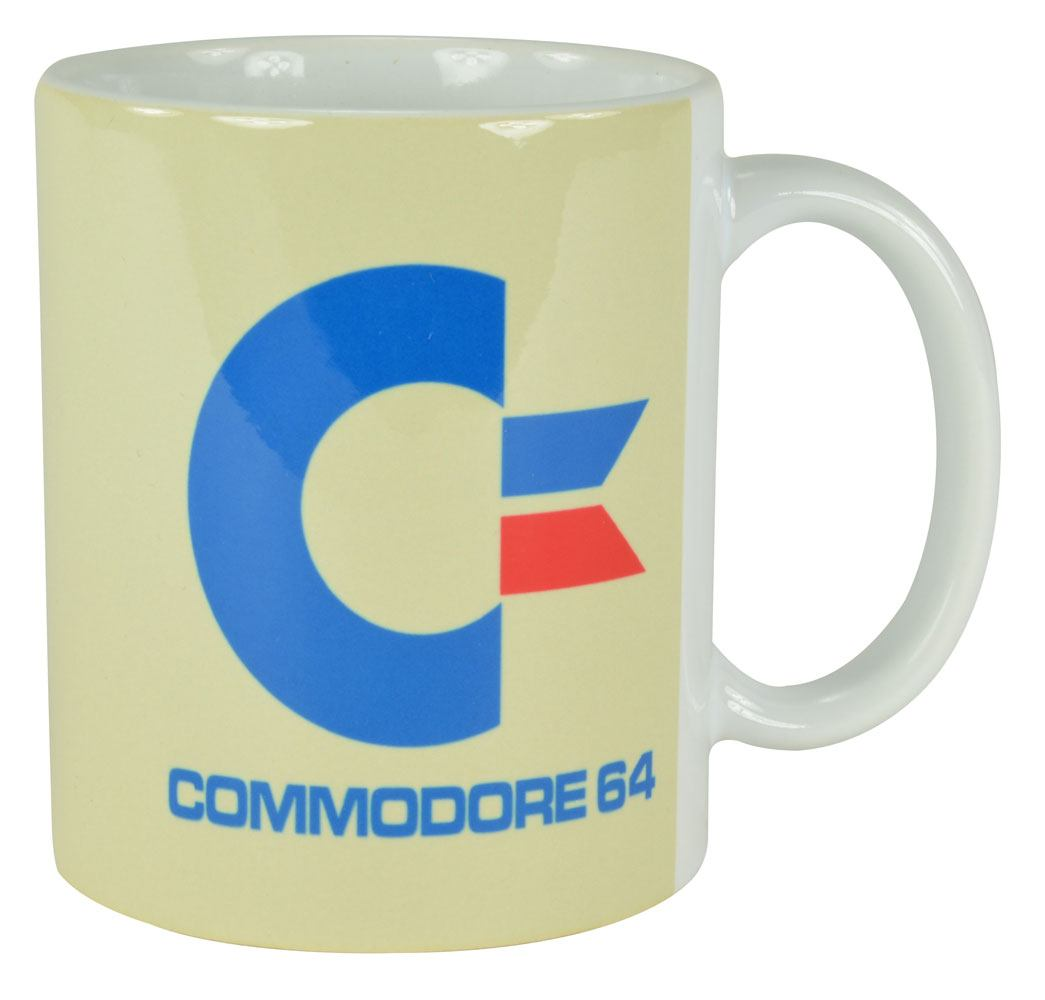Commodore 64 mug White Logo