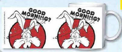 Looney Tunes mug Coyote, Good Morning