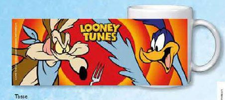 Looney Tunes mug Roadrunner & Coyote