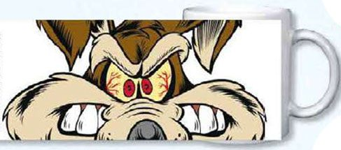 Looney Tunes mug Coyote