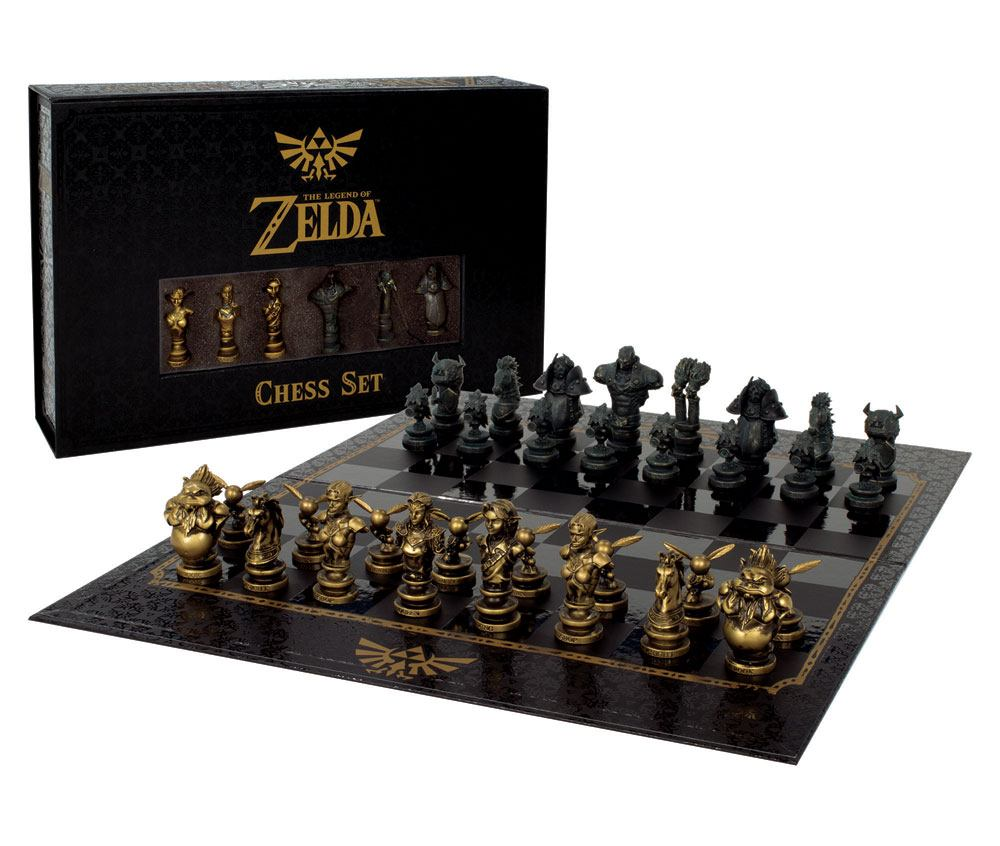 The Legend of Zelda jeu d´échecs Collector's Set