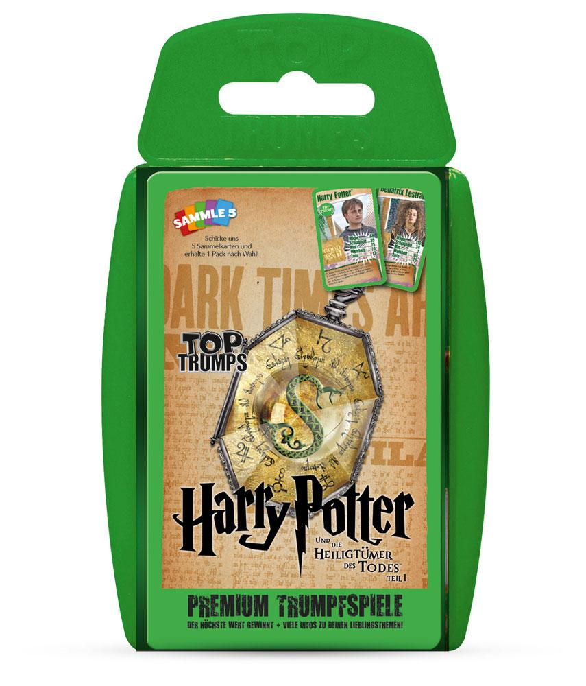 *****Harry Potter and the Deathly Hallows Part 1 Top Trumps *ALLEMAND*