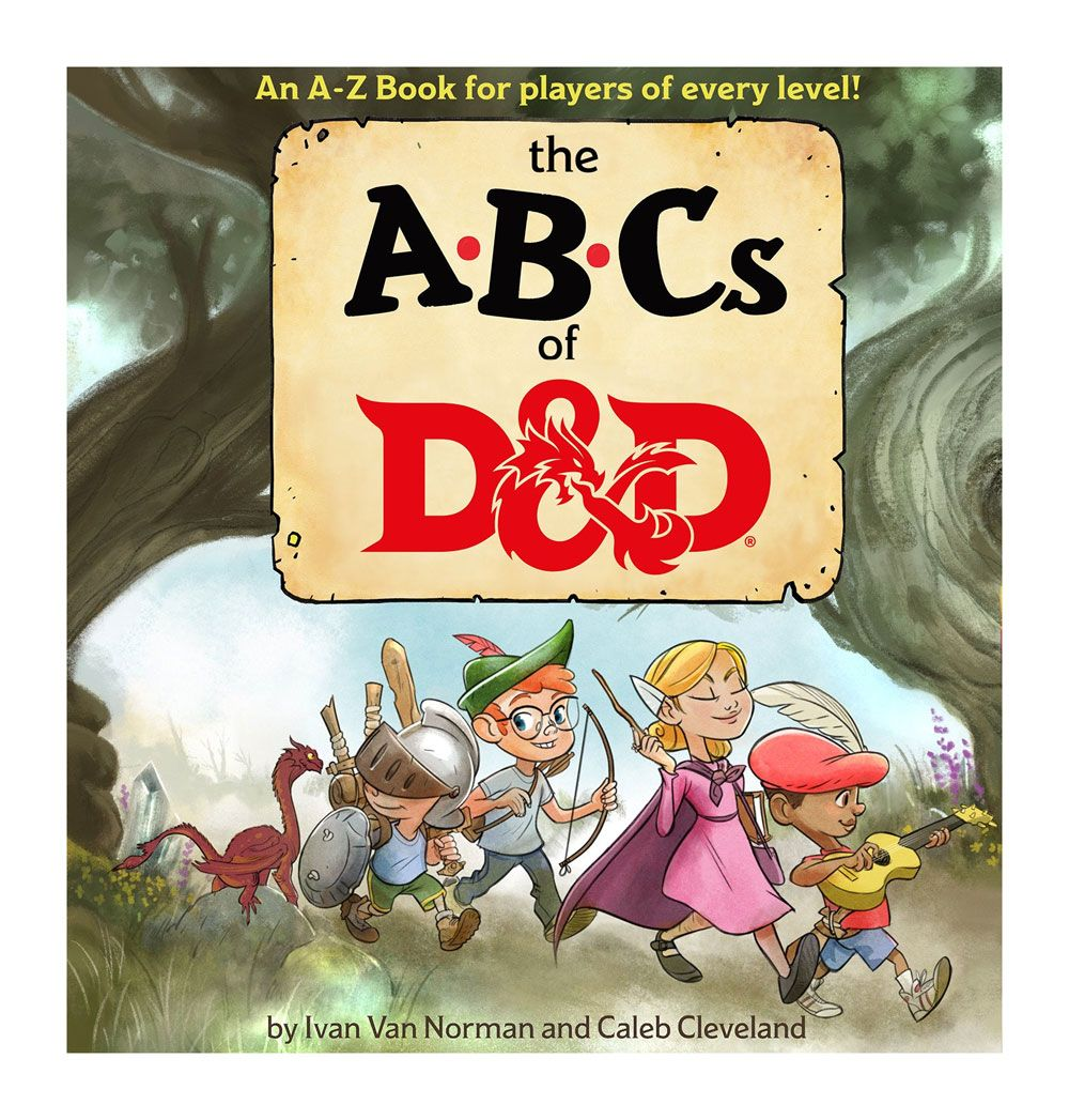 Dungeons & Dragons livre éducatif The ABCs of D&D *ANGLAIS*