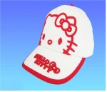 HELLO KITTY - Casquette blanc et rouge