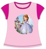 SOFIA THE FIRST T-shirt princesse fille au chateau