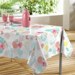 Nappe rectangle PVC Modele Garden Tea Party