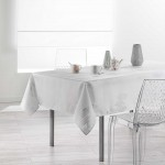 Nappe rectangle Collection Argent Plumia