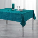 Nappe 140x240cm Filliane Petrole