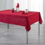 Nappe 140x300cm Filliane Rouge