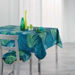 Nappe polyester Collection Blue Vegetale