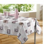 Nappe rectangle PVC Modele Romantic Suzanne