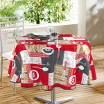 Nappe ronde Collection Bistrot