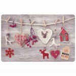 Set de table opaque Love Winter Home