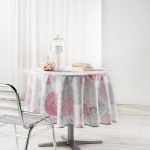 Nappe polyester imprime Collection Barbara 180 cm