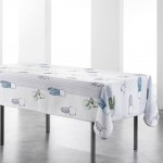 Nappe rectangle polyester Cactus 150 x 240 cm