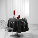 Nappe ronde Argent Collection Constellation