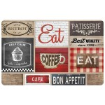 Set de table 28 x 44 cm opaque Bistrot Coffee Shop