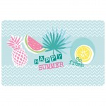 Set de table 28 x 44 cm opaque Happy summer Ananas