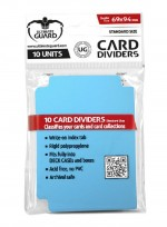ULTIMATE GUARD 10 intercalaires pour cartes Card Dividers taille standard Bleu Clair