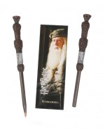 HARRY POTTER Set stylo à bille et marque-page Dumbledore